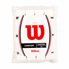 12 Pack WilsonZ4016WhTennis BadmintonProOvergrip ComfortWhiteSprots