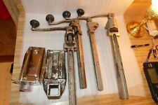 Lot of 4 Edlund Commerical Can Openers(2) No 1, (2) No 2, One base for each