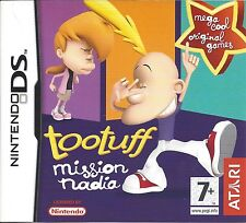 TOOTUFF MISSION NADIA for Nintendo DS NDS - with box & manual