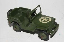 1950's Dinky Military Toys #153a US Army Willys Jeep, Original