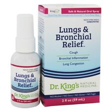 King Bio Homeopathic Natural Medicine Lungs & Bronchial Relief, 2 Ounces