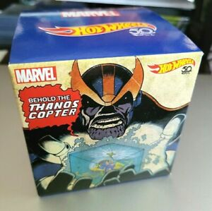 MARVELOUS SDCC 2018 Hot Wheels Die-Cast Thanos Copter MISB as SEEN on LOKI Show