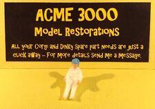 CORGI 330 porsche carrera 6 reproduction-en plastique peintes conducteur (bleu casque)