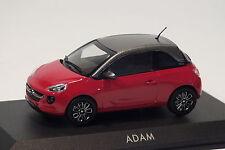 Motorart Opel Adam, Rot + graues Dach, Modellauto 1:43, Dealer, NEU&OVP