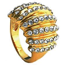 Modeschmuck-Ringe im Cluster-Stil aus Sterlingsilber für Damen