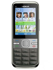 original Nokia C5 5MP  Grey 3G Cell Phone Unlocked free shipping