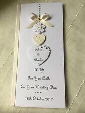 Handmade Personalised Gift Voucher/Money Wallet Wedding Anniversary Engagement