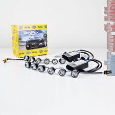 HELLA LEDayFlex LED 12V Modul Tagfahrleuchten 2x 6 Module inkl. Profi-Kabelsatz