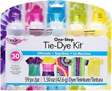 Tulip - TIE DIY - ULTIMATE One Step Tie dye kit  Dye for Clothes, shoes, bags