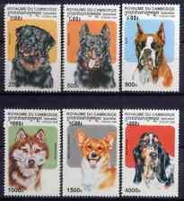 CAMBODIA 1998 - SET DOGS MNH