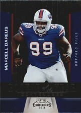 2011 Playoff Contenders ROY Contenders #10 Marcell Dareus Rookie Bills