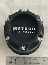 Method Race Wheels Hub Cover Flat Matte Black Center Cap 1922B100-S1 LG1311-29