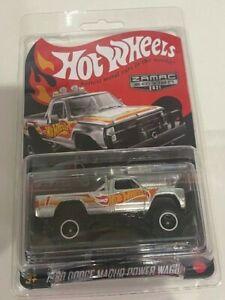 Hot Wheels 2021 Collector Edition 1980 Dodge Macho Power Wagon ZAMAC, In Hand