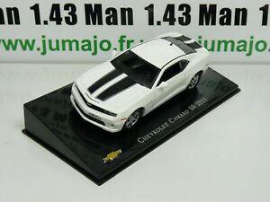 CVT32 voiture 1/43 IXO Salvat BRESIL CHEVROLET : Camaro SS 2011