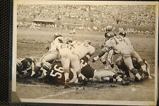 NOV 26 1961 CLEVELAND BROWNS NY GIANTS TYPE 1 PHOTO 5X7 NM  GOAL LINE STAND