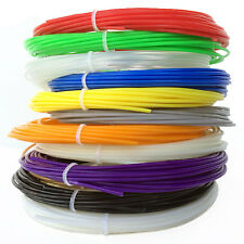 ABS 1.75mm Filament 3D Printer Pen Refill Pack, 20 Feet Per Color With 12 Colors