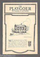 "George Gershwin ""PORGY and BESS"" Todd Duncan / William Gillette 1936 Program"