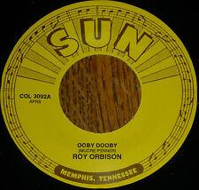 """* * 2 SUN ROCKERS ROY ORBISON """"OOBY DOOBY"""" + JOHNNY CASH """"TEENAGE QUEEN"""" MINT 45"""