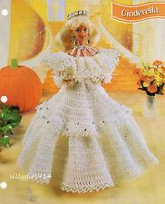 """CINDERELLA""~Annie's Crochet PATTERN~PATTERN ONLY for BARBIE FASHION DOLL"