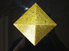 Large 12x9cm or 23k énergie d'Orgone Auric Domaine Harmonizer 5xDT Quartz Pyramide