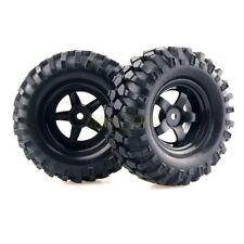 4x RC 1/10 Car Racking Climbing Rock Crawler Wheel Rim & Tires Tyre 6030-7006