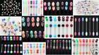 1000 WHOLESALE Assorted Tongue Rings Body Jewelry Lot Piercings Barbells Bar 14g