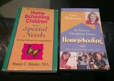 So You're Thinking About Homeschooling by Lisa Whelchel Focus PLUS BONUS book