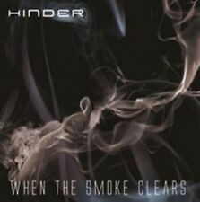 When the Smoke Clears - Hinder CD BRAND NEW FACTORY SEALED SLIPCASE