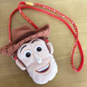 Tokyo Disney Resort Woody Pass case 2017 coin case Limited Plush TOYSTORY