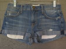 CURRENT / ELLIOTT THE GIRLFRIEND SHORT IN JUKE BOX DESTROY SIZE 25