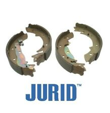 For BMW E30 318i Rear Drum Brake Shoe Set OEM Jurid 34219064270