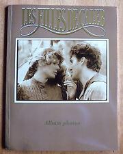 rare Album photo LES FILLES DE CALEB book Roy Dupuis * souvenir book sepia 1990