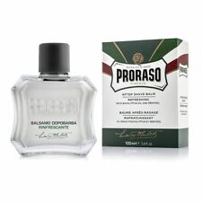 Proraso Green Line After Shave Balm, Refreshing and Toning, 3.4 oz, 100 ml
