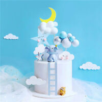 New Elephant Squirrel Cake Topper for Birthday Baby Shower Party Cake Decoration