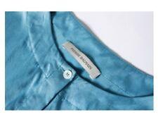 Pierre Balmain Turquoise Blue Silk Tie-Waist Shirt Dress Size 44 UK 10 12 Tunic