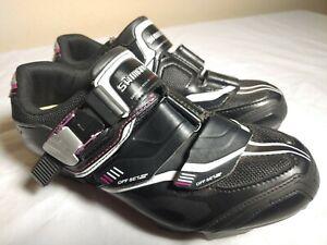 Shimano Women's Cycling Shoes SH-WM82 Black / Magenta 7.2