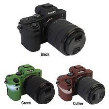 Camera Soft Silicone Protector Skin Case Bag for Sony Alpha A7 Mark II A72 A7II