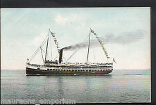 Shipping Postcard - The Steamer Cabrillo Leaving Avalon, Catalina Island  MB2552