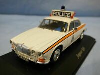 ATLAS 1:43 1970s Jaguar XJ6 West Yorkshire Police Car Diecast Detail Diorama Toy