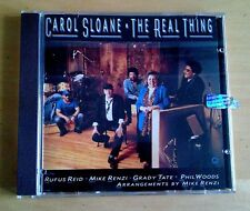 Carol Sloane - The real thing - 1990 - made in USA