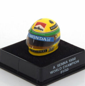 1:12 JF Creations McLaren helmet World Champion Senna 1990