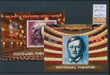 LM45227 Yemen 1971 theatre sports olympics sheets MNH cv 30 EUR