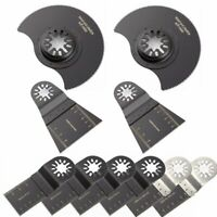 10 Pcs Oscillating Multi Tool Saw Blade For Fein Multimaster BOSCH Dremel Makita