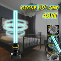 220V 40W E27 UVC Germicidal Disinfection Lamp UV Ozone Home Sterilization Light