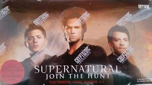 2016 Supernatural Season 4 - 6 Factory Sealed Trading Card Box Cryptozoic