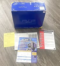 Sony PlayStation 2 PS2 'Fat' Console System Original BOX ONLY And Inserts