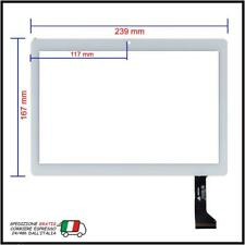 VETRO TOUCH SCREEN PER TABLET DUODUOGO BIANCO CON FLAT Angs-ctp-101206