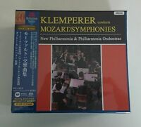 Mozart Symphonies Otto Klemperer Japan 5 SACD Box Tower Records NEW/SEALED