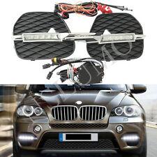 BMW X5 E70 2011-2013 Led DRL Daytime Running Light Front Bumper led Fog Lamp