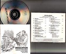 INVOCATION -Muziek Uit De Burgwalkerk CD -Jan De Jong-Euphonium & Theo Van Dijk
